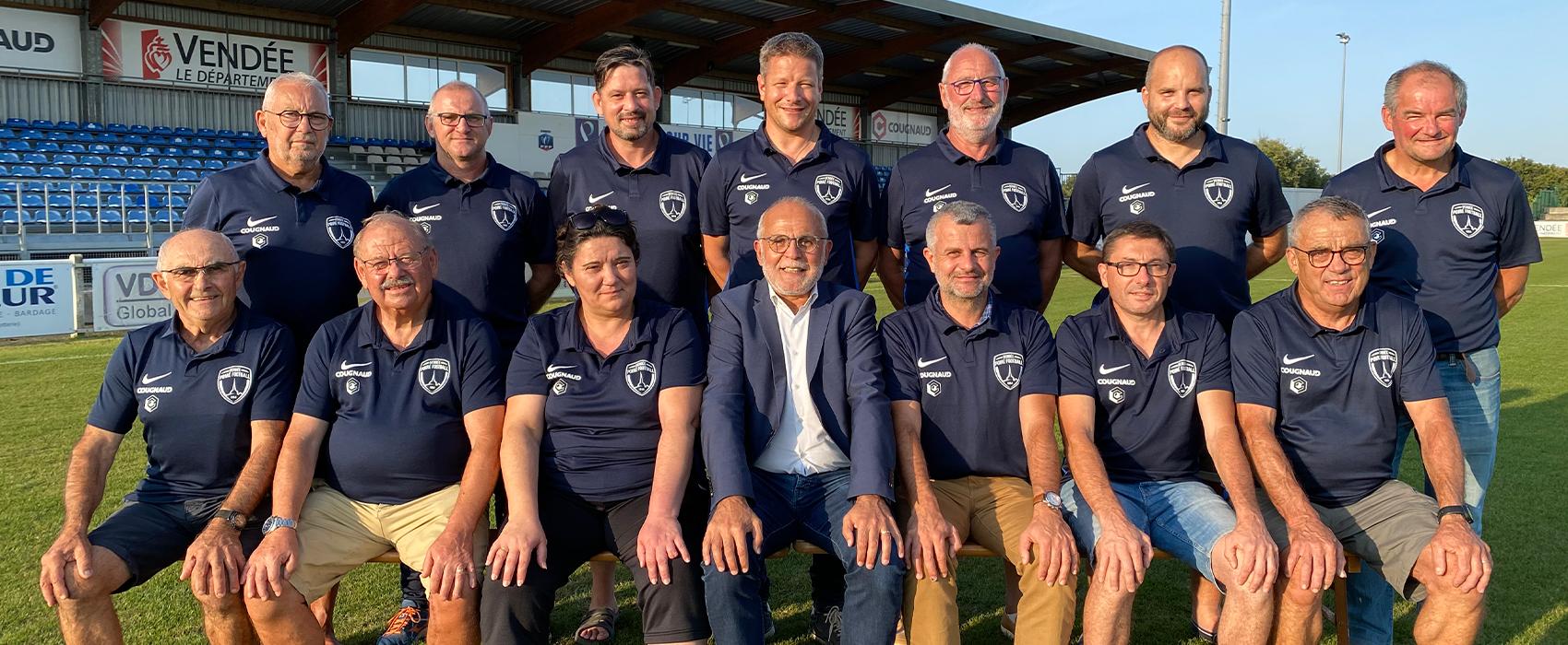 comité de direction du vendée poiré sur vie football